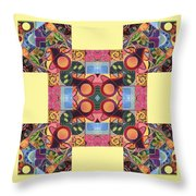 The Joy Of Design Series Arrangement - Seek And You Will Find Throw Pillow