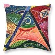 The Joy Of Design V Part 2 Throw Pillow