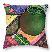 The Joy Of Design Vl Part 3 Throw Pillow