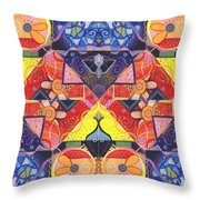 The Joy Of Design Vll Arrangement Offers And Offerings Throw Pillow