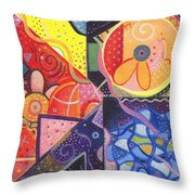 The Joy Of Design Vll Part 2 Throw Pillow
