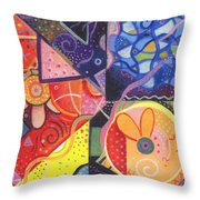 The Joy Of Design Vll Part 3 Throw Pillow