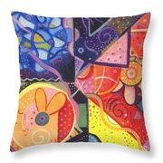 The Joy Of Design Vll Part 4 Throw Pillow