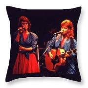 The Judds Throw Pillow