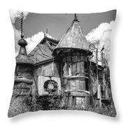 The Junk Castle Iv Throw Pillow