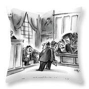 The Jury Will Disregard The Witness's Last Throw Pillow