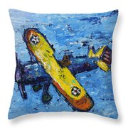 The Kaydet Throw Pillow