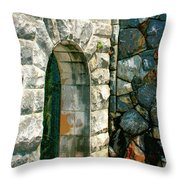 The Keep Biltmore Asheville Nc Throw Pillow by William Dey