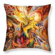 The Keeper Of Three Keys Throw Pillow