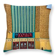 The Kessler Movie Theater Throw Pillow