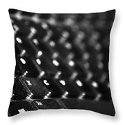 The Keys Of Life Or Lack Of... Throw Pillow