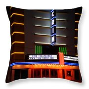 The Kilgore Crim Theater Throw Pillow