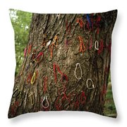 The Killing Tree Throw Pillow