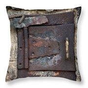 The Kiln Throw Pillow