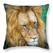 The King Throw Pillow
