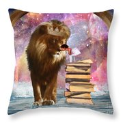 The Kings Kiss Throw Pillow
