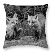 The Kits Monochrome Throw Pillow