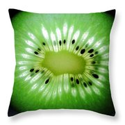 The Kiwi Experiment Throw Pillow