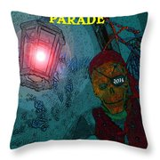 The Knights Parade Throw Pillow