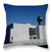 The Knoxville Museum Of Art Throw Pillow
