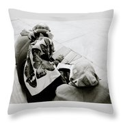 A Life Of Reading Throw Pillow