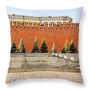 The Kremlin Wall - Square Throw Pillow