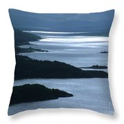 The Kyles Of Bute Throw Pillow