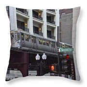 The L Throw Pillow