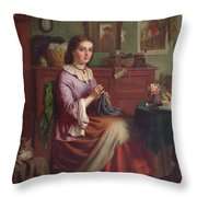 The Labourers Welcome Throw Pillow