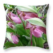 The Ladies Throw Pillow