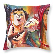 The Ladies Of Loket In The Czech Republic Throw Pillow