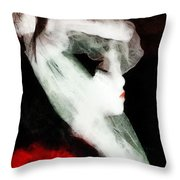 The Lady Is Not For Turning  Throw Pillow