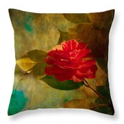 The Lady Of The Camellias Throw Pillow by Loriental Photography