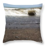 The Lake That Thinks Its An Ocean Throw Pillow