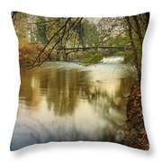 The Lambro River Throw Pillow
