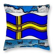 The Land Of Ikea Throw Pillow