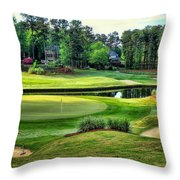 The Landing At Reynolds Plantation Throw Pillow