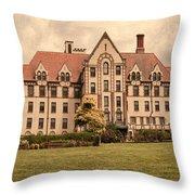The Landmark Throw Pillow
