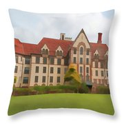The Landmark IIi Throw Pillow