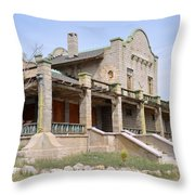 The Las Vegas And Tonopah Railroad Depot Throw Pillow