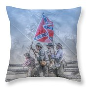 The Last Charge Throw Pillow