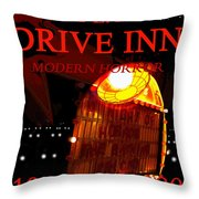 The Last Drive Inn Throw Pillow