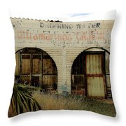 The Last Drop Throw Pillow by Kandy Hurley