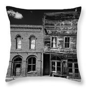 The Last Frontier - Bodie - California Throw Pillow