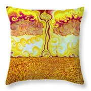 The Last Harvest Throw Pillow