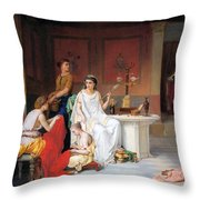The Last Hour Of Pompeii Throw Pillow