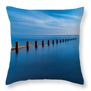 The Last Posts Throw Pillow