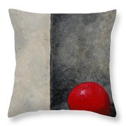 The Last Red Balloon Throw Pillow