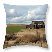 The Last Remains Throw Pillow