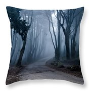 The Last Road Throw Pillow